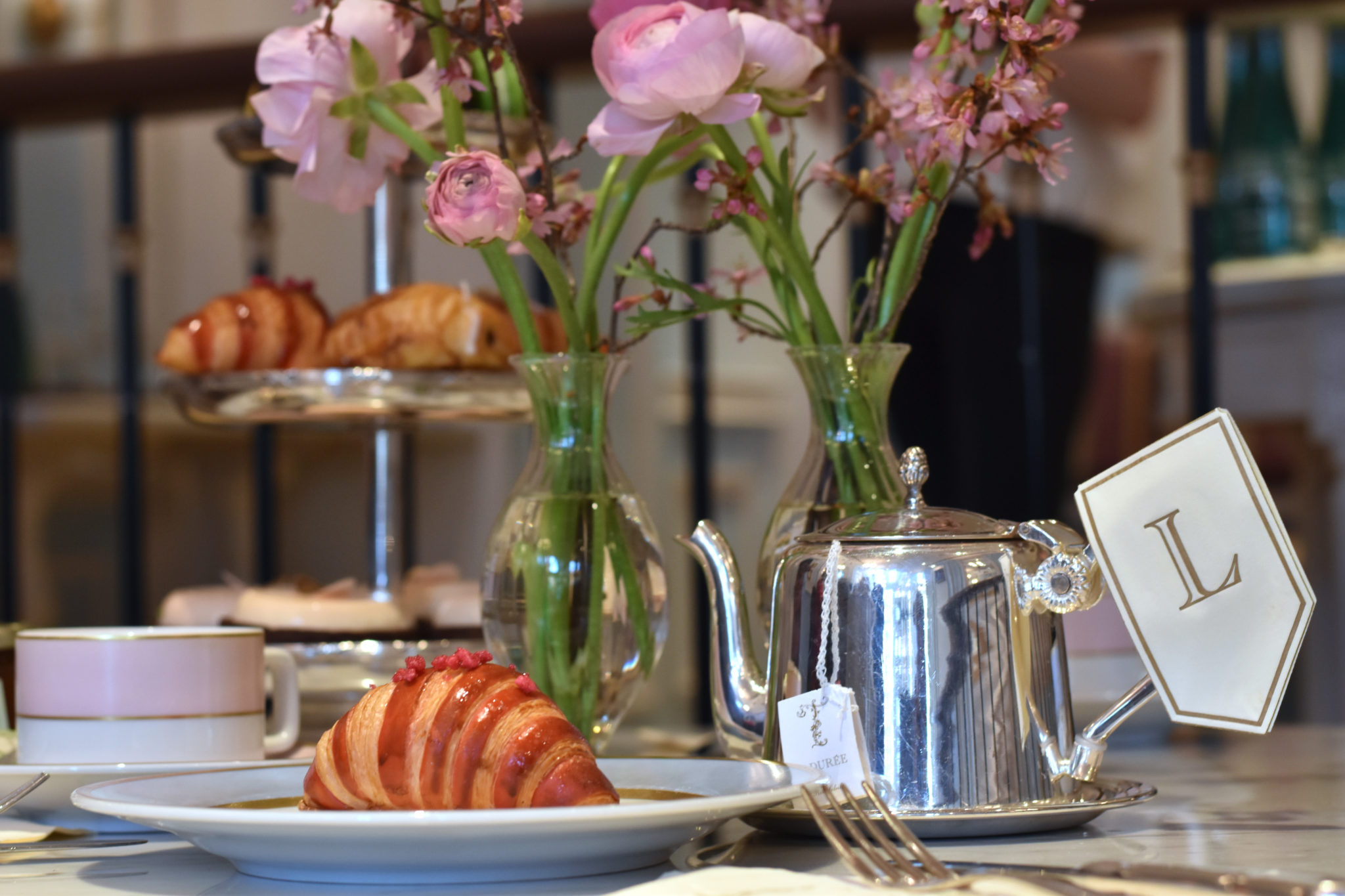 Tea at Ladurée: Testing new spring pastry additions - The